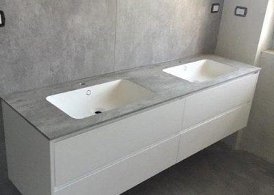 Ristrutturazione Bagni, Ellegi Snc, Milano, base con lavabo integrato
