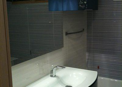 Ristrutturazione Bagni, Ellegi Snc, Milano, lavabo, specchio