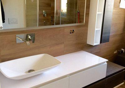 Ristrutturazione Bagni, Ellegi Snc, Milano, base con lavabo, specchio