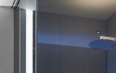 Box&Co. – Cabina doccia apertura angolare scorrevole