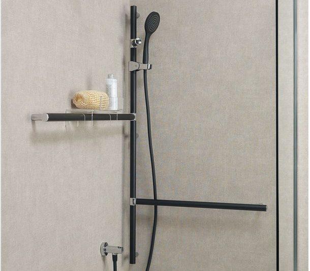 maniglie di sicurezza per la doccia