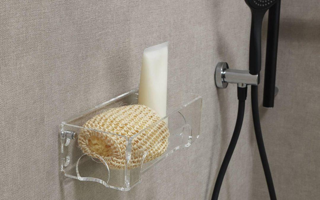 Novità Complementi Contenitori in plexiglass per interno docce.